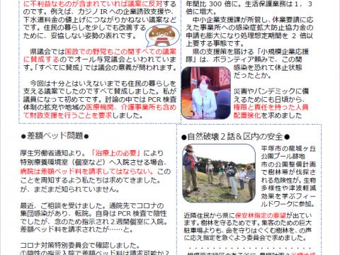 奈々子report8.9月号できました。