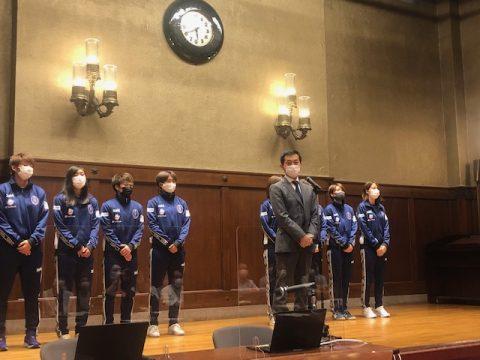 サッカー女子プロ「WEリーグ」を知る (*'▽')神奈川県議会女性活躍推進議員連盟研修会